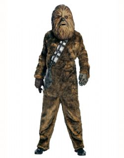 STAR WARS -  DELUXE CHEWBACCA COSTUME (ADULT - ONE SIZE)