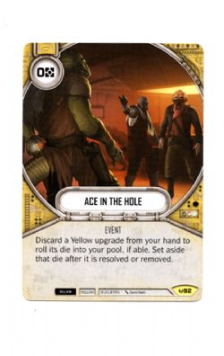 STAR WARS DESTINY -  ACE IN THE HOLE -  AWAKENINGS
