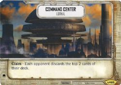 STAR WARS DESTINY -  COMMAND CENTER - LOTHAL -  AWAKENINGS