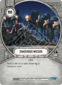 STAR WARS DESTINY -  DANGEROUS MISSION -  EMPIRE AT WAR