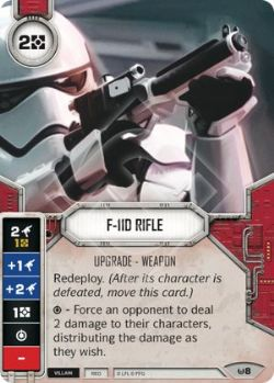 STAR WARS DESTINY -  F-11D RIFLE -  AWAKENINGS