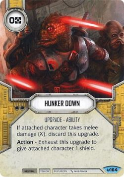 STAR WARS DESTINY -  HUNKER DOWN -  AWAKENINGS