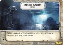 STAR WARS DESTINY -  IMPERIAL ACADEMY - Lothal -  EMPIRE AT WAR