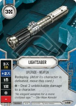 STAR WARS DESTINY -  LIGHTSABER -  AWAKENINGS
