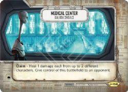 STAR WARS DESTINY -  MEDICAL CENTER - KALIIDA SHOALS -  EMPIRE AT WAR
