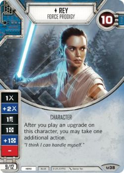 STAR WARS DESTINY -  REY - FORCE PRODIGY -  AWAKENINGS