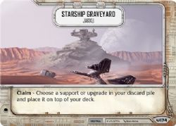 STAR WARS DESTINY -  STARSHIP GRAVEYARD - JAKKU -  AWAKENINGS