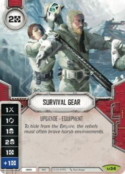 STAR WARS DESTINY -  SURVIVAL GEAR -  AWAKENINGS