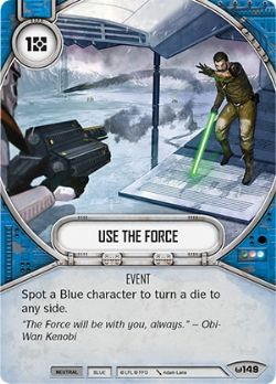 STAR WARS DESTINY -  USE THE FORCE -  AWAKENINGS
