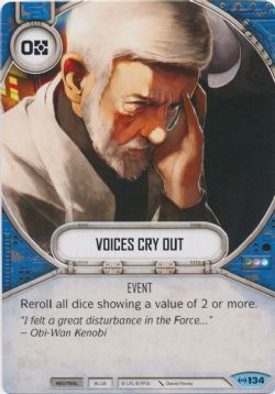 STAR WARS DESTINY -  VOICES CRY OUT -  EMPIRE AT WAR