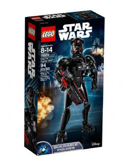 STAR WARS -  ELITE TIE FIGHTER PILOT (94 PIECES) -  BUILDABLE FIGURES 75526