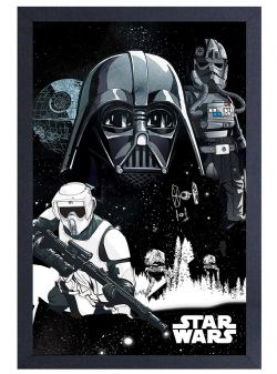 STAR WARS -  EMPIRE COLLAGE FRAMED PICTURE (13