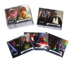 STAR WARS -  EVOLATION SET (100 CARDS)