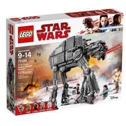 STAR WARS -  FIRST ORDER HEAVY ASSAULT WALKER (1376 PIECES) 75189