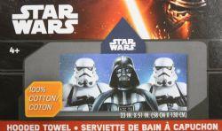 STAR WARS -  HOODED TOWEL