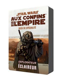 STAR WARS JEU DE RÔLE -  DECK DE SPÉCIALITÉ ÉCLAIREUR (FRENCH) -  AUX CONFINS DE L'EMPIRE