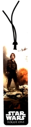 STAR WARS -  JYN ERSO - BOOKMARK -  ROGUE ONE