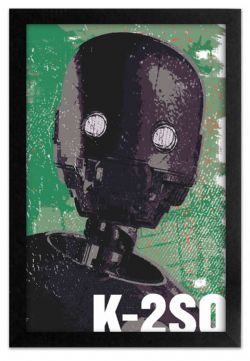 STAR WARS -  K-2SO PROFILE PICTURE FRAME (13