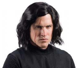 STAR WARS -  KYLO REN WIG - BLACK (ADULT)