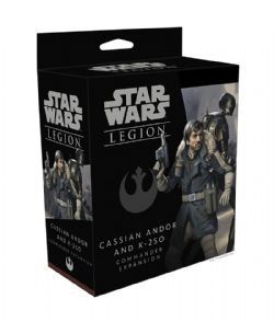 STAR WARS : LEGION -  CASSIAN ANDOR AND K-2S0 (ENGLISH)