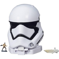 STAR WARS -  MICROMACHINES - STORMTROOPER (1 MINI FIGURE + 1 SPACESHIP)