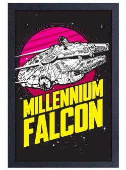 STAR WARS -  MILLENIUM FALCON PICTURE FRAME (13