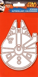 STAR WARS -  MILLENNIUM FALCON - STICKER