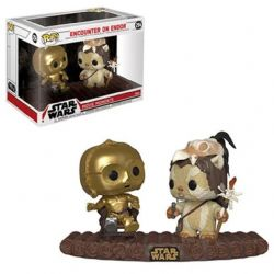 STAR WARS -  POP! VINYL BOBBLE-HEAD OF C-3PO ON THRONE (9 INCH) -  STAR WARS : ENCOUNTER ON ENDOR 294