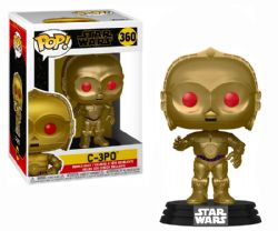 STAR WARS -  POP! VINYL BOBBLE-HEAD OF C-3PO (RED EYES) (4 INCH) 360