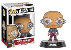 STAR WARS -  POP! VINYL BOBBLE-HEAD OF MAZ KANATA (4 INCH) 108