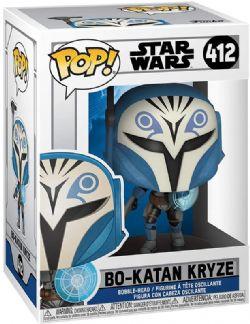 STAR WARS -  POP! VINYL FIGURE OF BO-KATAN KRYZE (4 INCH) -  CLONE WARS 412