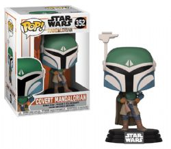 STAR WARS -  POP! VINYL FIGURE OF COVERT MANDALORIAN (4 INCH) -  THE MANDALORIAN 352