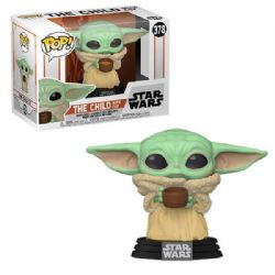 STAR WARS -  POP! VINYL FIGURE OF THE CHILD WITH CUP (4 INCH) -  THE MANDALORIAN 378