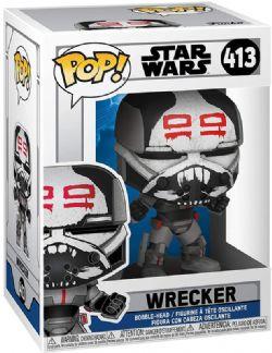 STAR WARS -  POP! VINYL FIGURE OF WRECKER (4 INCH) -  CLONE WARS 413