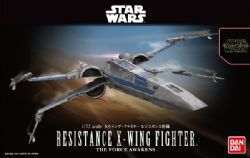 STAR WARS -  RESISTANCE X-WING FIGHTER 1/72 SCALE (MODERATE) -  STAR WARS