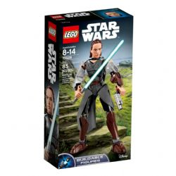 STAR WARS -  REY (85 PIECES) -  BUILDABLE FIGURES 75528