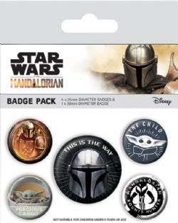 STAR WARS -  SET OF 5 PINS -  THE MANDALORIAN