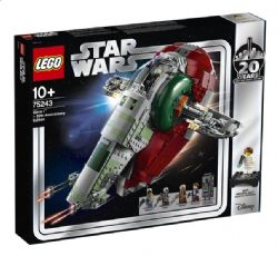 STAR WARS -  SLAVE 1 (1007 PIECES) -  20TH ANNIVERSARY 75243