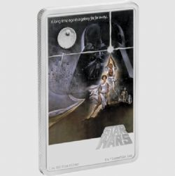 STAR WARS -  STAR WARS™ MOVIE POSTERS: A NEW HOPE™ -  2020 NEW ZEALAND MINT COINS 04