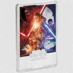 STAR WARS -  STAR WARS™ MOVIE POSTERS: THE FORCE AWAKENS™ -  2019 NEW ZEALAND MINT COINS 07
