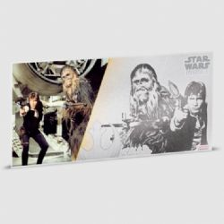 STAR WARS -  STAR WARS: A NEW HOPE - HAN SOLO™ AND CHEWBACCA™ -  2018 NEW ZEALAND MINT COINS 03