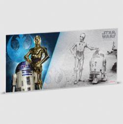 STAR WARS -  STAR WARS: A NEW HOPE - R2-D2™ & C-3PO™ -  2018 NEW ZEALAND MINT COINS 06