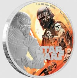 STAR WARS -  STAR WARS: THE RISE OF SKYWALKER™: KYLO REN™ -  2019 NEW ZEALAND MINT COINS 02