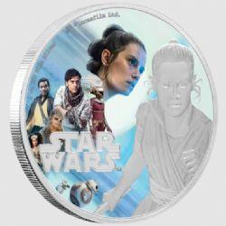 STAR WARS -  STAR WARS: THE RISE OF SKYWALKER™: REY™ -  2019 NEW ZEALAND MINT COINS 01