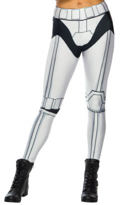 STAR WARS -  STORMTROOPER LEGGINGS (ONE SIZE)