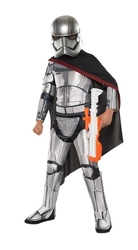 STAR WARS -  SUPER DELUXE CAPTAIN PHASMA COSTUME (CHILD)