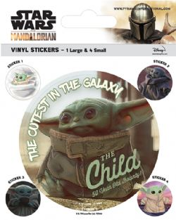 STAR WARS -  THE CHILD VINYLE STICKER -  THE MANDALORIAN