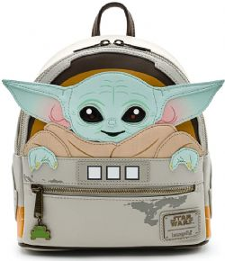 STAR WARS -  THE MANDALORIAN - THE CHILD MINI BACKPACK -  LOUNGEFLY
