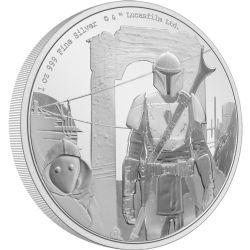 STAR WARS: THE MANDALORIAN -  THE MANDALORIAN™ CLASSIC: THE MANDALORIAN™ -  2021 NEW ZEALAND MINT COINS 01