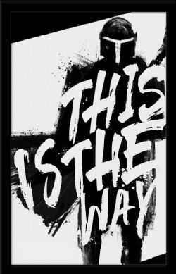 STAR WARS -  THIS IS THE WAY PICTURE FRAME (13